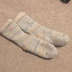Dearfoams slipper socks